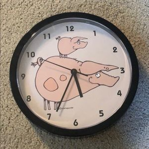 Other - Pig Wall Clock